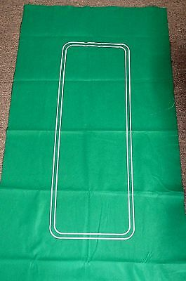 "Trademark Poker Texas Hold'em Layout 36 inch x 72 inch 36"" x 72"" Green"