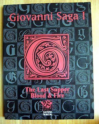 Giovanni Saga Vol. 1 The Last Supper/Blood and Fire White Wolf WW2098