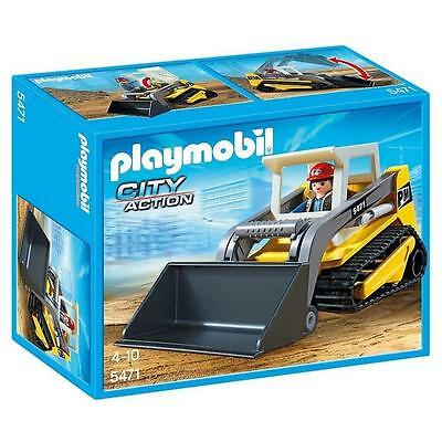 Playmobil City Action Compact Excavator Kids Play Set (5471)