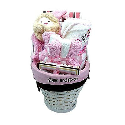 10 Pcs Newborn Boy Or Girl Gift Basket