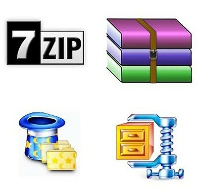 7Zip Extract and Compress Software Compatible with WinZIP Zip Unzip WinRAR