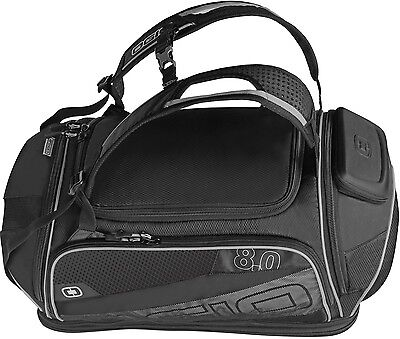 Ogio Endurance 8.0 Gearbag Kit Bag Cycle Luggage Travel Gym Cycling Black Silver