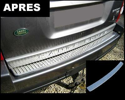REAR CHROME BUMPER PLATE PROTECTION for RANGE ROVER SPORT 2005-13 HSE TDV8 TDV6