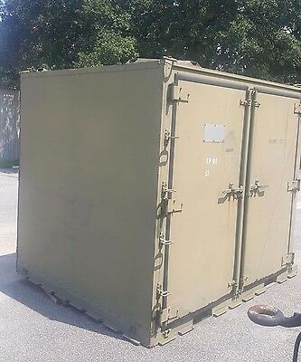"108x88x96"" Shipping Container Storage Container Conex Military ISU-90 Pensacola"
