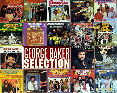 """7"""" 18x GEORGE BAKER SELECTION Holy Day/Morning Light/Marie Jeanne/I'm On My Way"""