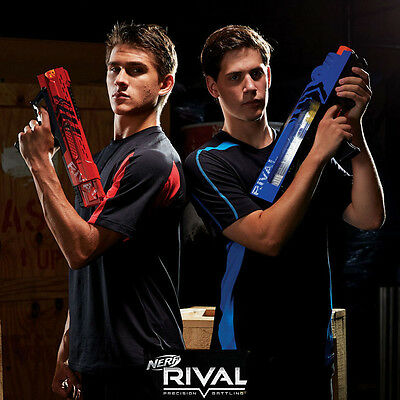 Hasbro Nerf Rival Precision Battling Blaster Guns And Accessories! Age 14+