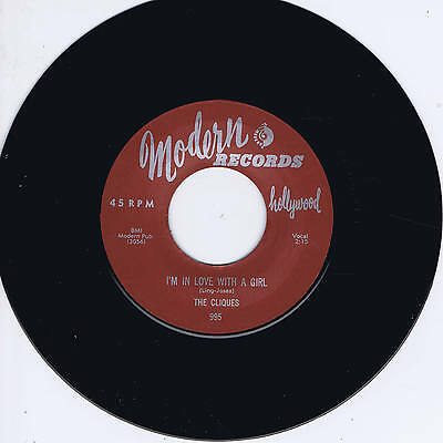 The Cliques - I'm In Love With A Girl / My Desire - Great Jump Doo-Wop Stroller