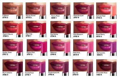 New Avon Ultra Color Colour Indulgence Hydrating Gels Lipstick Rrp £8