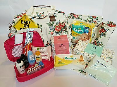 Pre Packed Maternity Hospital Changing Bag with Essential Products