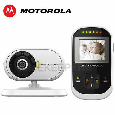 "Motorola MBP18 1.8"" LCD 2.4Ghz Wireless Video Baby Monitor Night Vision Camera"