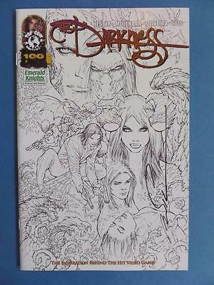 The Darkness 100 Emerald Knights Signed Silvestri! Nm!!