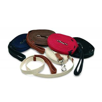 Cottage Craft Lunge Rein - Leather Handle