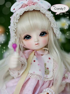1/6 BJD DOLL Littlemonica Blossom Lucile FREE FACE MAKE UP+FREE EYES