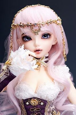 1/4 BJD doll FREE FACE MAKE UP+FREE EYES - chloe neutral color
