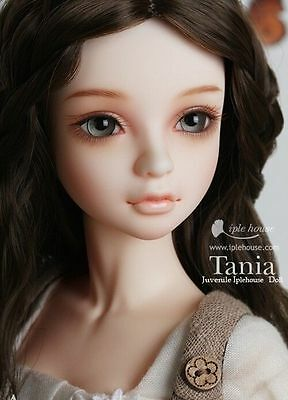 1/4 BJD doll Tania  FREE FACE MAKE UP+FREE EYES-girl