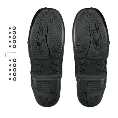 Alpinestars Mens Tech 7 Supermoto Replacement Boot Soles with Inserts Pair