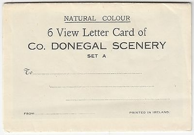 Scenery of Co. DONEGAL Ireland 6 View Letter Card