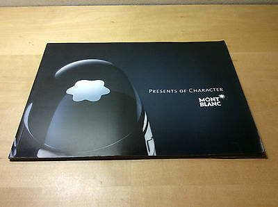 Used - Catalogue MONTBLANC Presents of Character + Price List - ENG ESP RUS