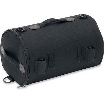 Saddlemen R850 Motorcycle Sissy Bar Roll Tail Bag Pack - Black