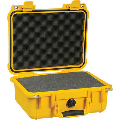 Pelican Products 1400YLW Case W/Foam For Camera (Yellow)