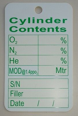 Cylinder Content Tag                                                       (tm2)