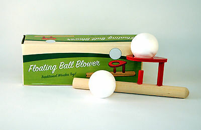 Floating Ball Blower Traditional Wooden Toy Exercise Lung Power
