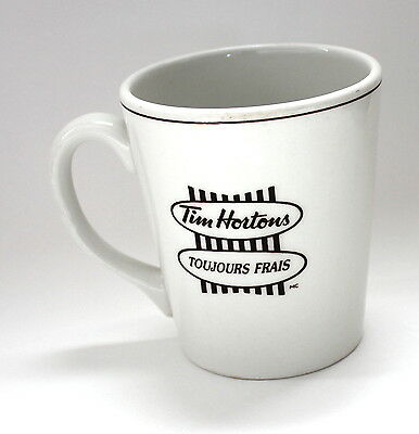Vintage Tim Horton's Coffee Mug Always Fresh Steelite England In Store Bilingual