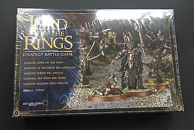NEW SEALED Games Workshop Lord of the Rings Sauron the Dark Lord warhammer Metal