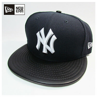 New York Yankees MLB Fitted Etcher New Era 59fifty Fitted Cap, Hat
