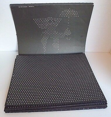 Lot of Lite Brite Refill Pages Sheets 69 Blanks 8 Glo Bug 3 Bozo & Train Unused
