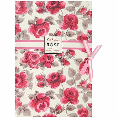 Cath Kidston Rose Pack of 6 Scented Drawer Liners - Great Gift - Full Range A/V