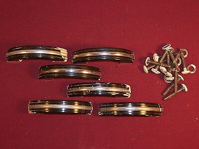 Lot of Vintage Drawer Cabinet Door Pulls Handles Retro Modern Art Deco
