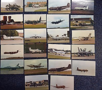 22 Postcards Aviation Military WW2 RAF Bombers Fighters Helicopters New
