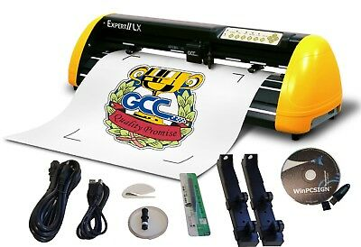 "24"" Sign Max Vinyl cutter Contour Cutting Pro Unlimited software 2014 ready2 use"