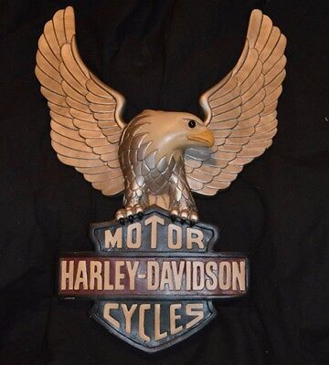 harley davidson wall plaque