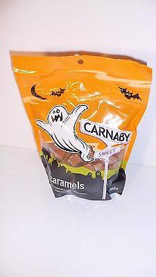 1 NEW CARNABY SOFT CHEWY CARAMEL CANDY 700 g 1.54 lbs BAG INDIVIDUALLY WRAPPED