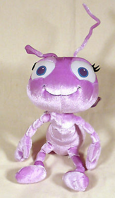 "Disney ""A Bugs Life"" Dot Applause Purple 12"" Plush"