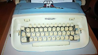 Royal Aristocrat Typewriter - Just overhauled and ready to go