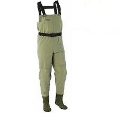 Stearns Breathable Stocking Foot Chest Waders XXL New