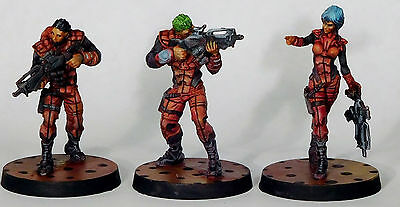 Corvus Belli Infinity Nomads Starter Pack new version pro painted
