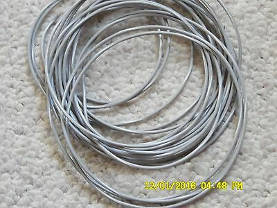 18 GA GPT gray wire  with white strip Primary