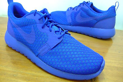 Original Mens Nike Roshe One Hyp Blue Running Sports Casual Gym Walking Trainers
