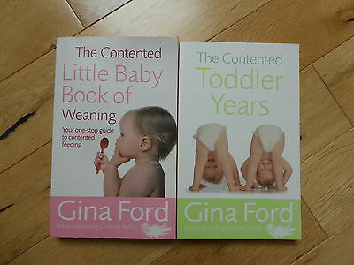 Gina Ford baby books