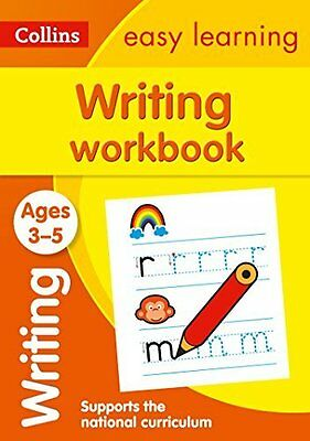 Writing Workbook Ages 3 to 5 Boost Child Learning Progress * Brand New * Fast