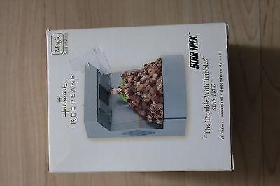 Hallmark Keepsake ornament Star Trek The Trouble with Tribbles  box 2008