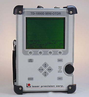 GN Laser Precision FiberWizard TD-1000D Fiber Optic Multimode MINI-OTDR Refurbed