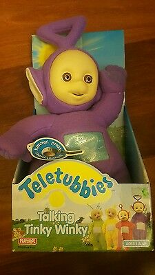Teletubbies Talking Tinky Winky 1998 Playskool 5568/5564