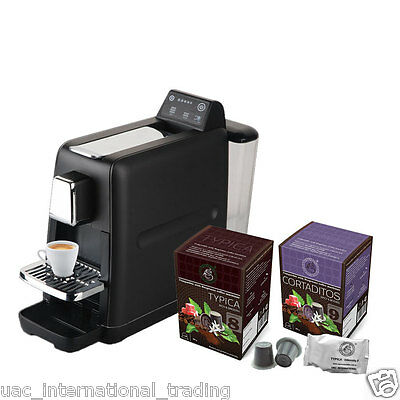 Nespresso Coffee Pods Compatible Touch Machine with 2 Blends Epresso Capsules