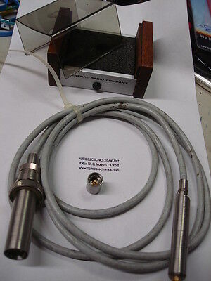 "General Radio 1962-9610 1/2"" electret-condenser microphone with cable"