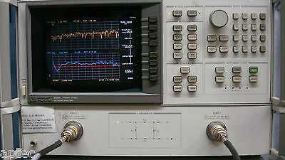 HP Agilent Keysight 8720B option H83 (hi pwr) Network Analyzer 130 MHz to 20 GHz